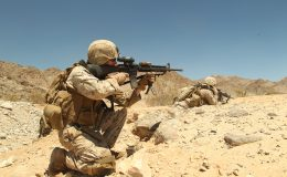 combat trained soldiers